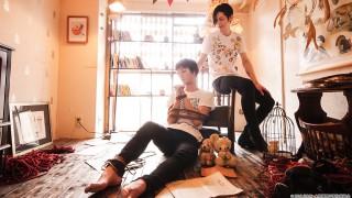 緊縛男子DVD3ヶ月連続発売